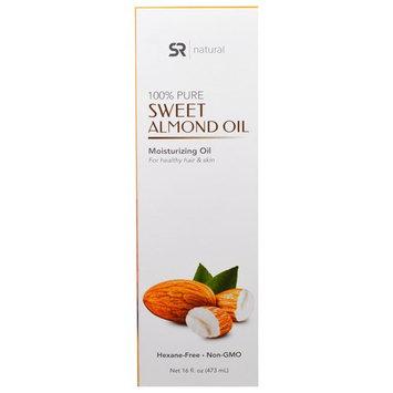 Sports Research, 100% Pure Sweet Almond Oil, 16 fl oz (473 ml) [Flavor : Almond Oil]