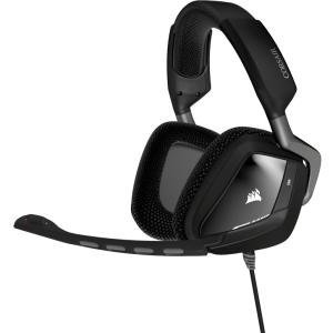 Corsair VOID USB Dolby 7.1 Gaming Headset - Surround - Carbon - USB - Wired - 32 Ohm - 20 Hz - 20 kHz - Over-the-head - Binaural - Circumaural - 5.91 ft Cable