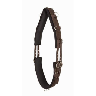 Jacks Tack Jti Tough-1 Neoprene Lined 12-Ring Nylon Surcingle Pon
