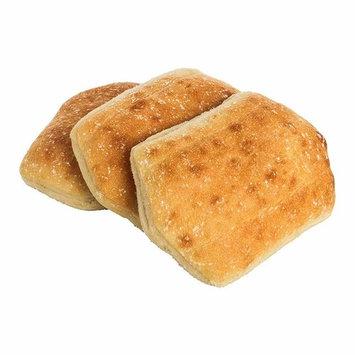 Labrea Bakery Telera Sliced Bread Roll, 3 Ounce - 96 per case.