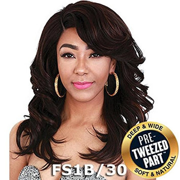 Sis Royal Pre-Tweezed Part Swiss Lace Front Wig - FERRY