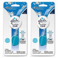 Glade Plugins Car Refill - Blue Odyssey - Net Wt. 3.2 mL (0.11 FL OZ) Per Refill - Pack of 2 Refills