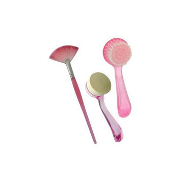 Facial Brush Fantasea 3 Piece Exfoliating Set (Pack of 2)