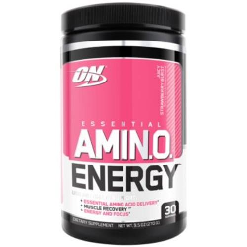 Amino Energy Juicy Strawberry Burst - STRAWBERRY (9.5 Ounces Powder) by Optimum Nutrition at the Vitamin Shoppe