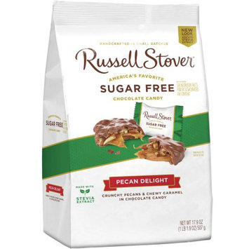 Russell Stover Chocolates Russell Stover Sugar Free 17.9OZ Pecan Delight Gusset Bag