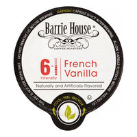 Barrie House French Vanilla Coffee Single Serve Cups for Keurig K cup Brewer, 24 Count