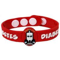 AllerMates Diabetes Allergy Awareness Wristband [Tab]