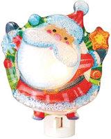 Jolly Ole Saint Nick Santa with Star Holiday Night Light Midwest CBK