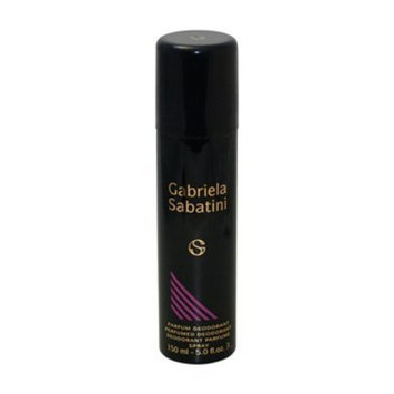 Gabriela Sabatini by Gabriela Sabatini for Women Perfumed Deodorant Spray, 5 Ounce