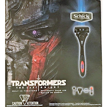Schick Hydro 5 Transformers The Last Knight Limited Edition Gift Set
