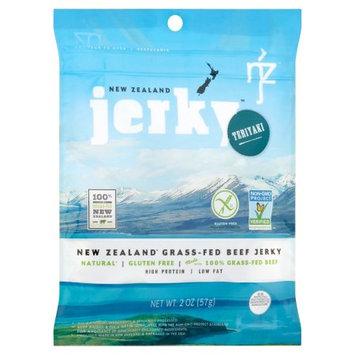 Nzj Inc New Zealand Jerky, Jerky Beef Tryaki Non Gmo, 2 Oz (Pack Of 6)