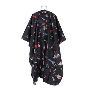 Anself Barber Hairdressing Gown Waterproof Salon Cape Haircutting Apron Hair Cutting Dyeing Styling Cloth
