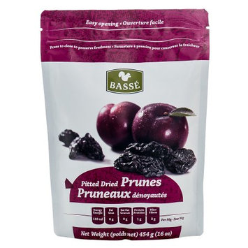 Basse Nuts Basse Dried Fruits Pitted Prunes (1lb.) Exceptional Best Foods For Weight Loss Packed With Sweet Weighty Flavor (2x16oz)
