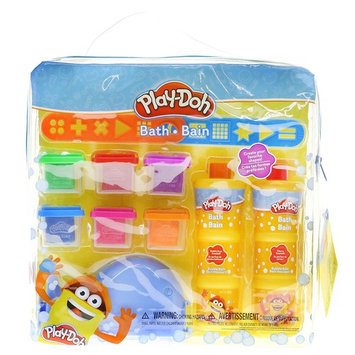 TownleyGirl Play-Doh Bath Soap Molder Set with 2 Stencils and 6 different colors of moldable soap