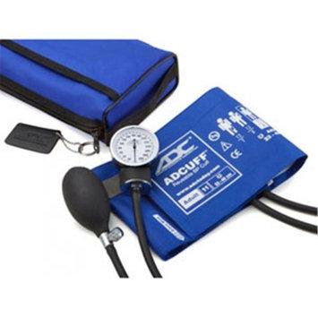 ADC Pro's Combo II Sphygmomanometer / Sprague Rappaport Stethoscope Kit, Royal Blue