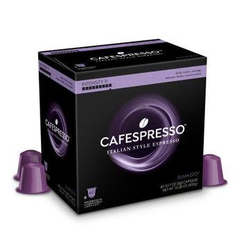 Trilliant Food Cafespresso Sumazzo Nespresso ® Compatible Capsules, 60 count (5 g) capsules, Intensity Level 9