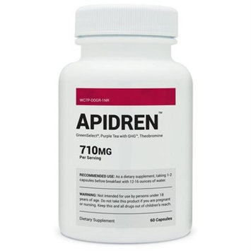 Apidren - Best Diet Pill for Healthy Weight Loss - All-Natural Fat Burner and Appetite Suppressant