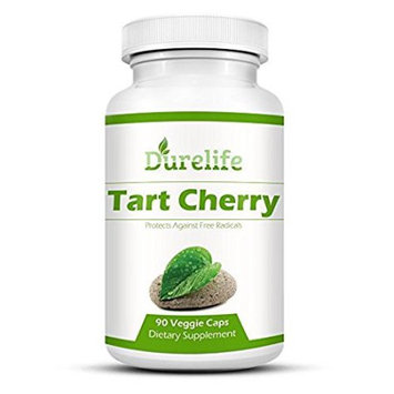 Tart Cherry Extract Supplement 90 Count 1,000 mg per Veggie Capsule By DureLife