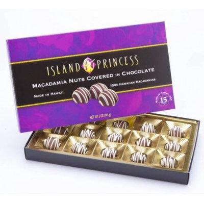 ISLAND PRINCESS Macadamia Nuts Covered in Chocolated KAHAKEA Nuts 141g