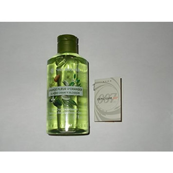 Yves Rocher Almond Orange Blossom 6.7 oz Shower gel and Bond Girl Carded perfume Sample (Bundle)