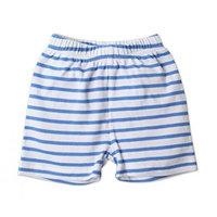 Zutano Baby Shorts- Periwinkle Breton, 18 Months