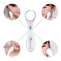 Fabura Portbale Home Travel Ion Vibration Beauty Device Facial Massager Skin Tighten Face Whitening Wrinkle Removal Device
