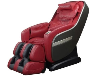 TITAN Alpine Massage Chair with L-Track Massage Function in Red Color