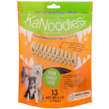 Vets Plus, Inc KaNoodles Dental Chews & Treats - Medium 6oz (13 counts)