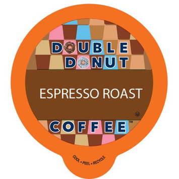 Double Donut Espresso Roast Coffee, in Recyclable Single Serve Cups for Keurig K-Cup Brewers, 80 Count
