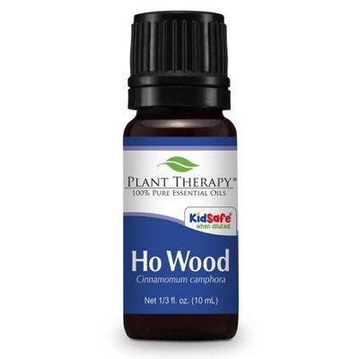 Plant Therapy Ho Wood Essential Oil 10 mL (1/3 fl. oz.) 100% Pure, Undiluted, Therapeutic Grade