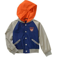 Ixtreme Newborn Baby Boy Lightweight Varsity Jacket