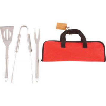 Bnf Chefmaster 4pc Stainless Steel Barbeque Tool Set