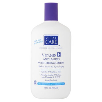 Vital Care Vitamin E Anti-Aging Moisturizing Lotion, 32 fl oz