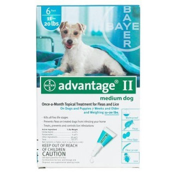 Bayer Topical Flea Treatment for Dogs [6 applications]