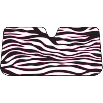 Plasticolor Pink Safari Bubble Accordian Sunshade