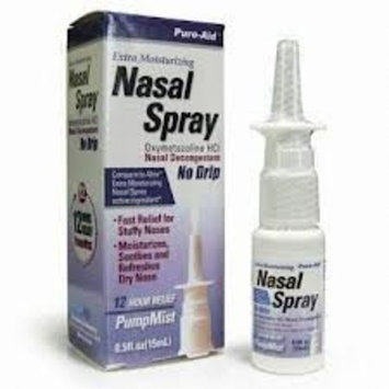 Extra Moisturizing Nasal Decongestant Spray 12 Hour Nose Spray Oxymetazoline Compare to Afrin