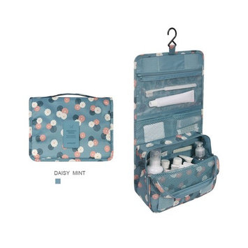 Portable Hanging Toiletry Travel Bag, Waterproof Organizer for Women Makeup or Men Shaving Kit with Hanging Hook for vacation