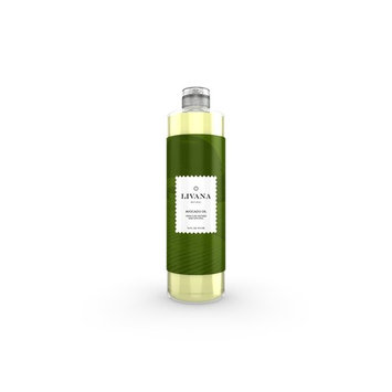Avocado Oil by Livana, 16 oz, Pure Refined Carrier Oil for Skin and Hair
