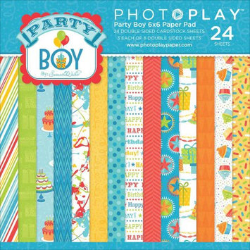 Photo Play Paper Photo Play Party Boy Double-Sided Paper Pad 6