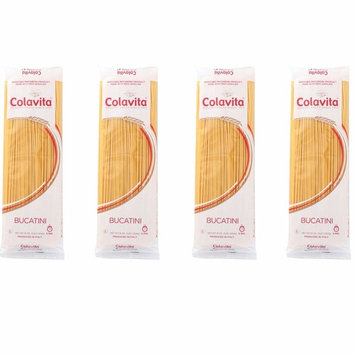 Colavita Pasta, Bucatini, 16 Ounce (4 Pack)