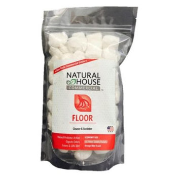 Natural House Commercial Floor Cleaner and Scrubber 60 count