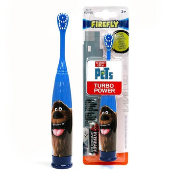 Firefly Turbo Battery Power Toothbrush, Secret Life of Pets, 1-Count, Assorted