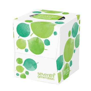 Seventh Generation Facial Tissues, 2-ply 85.0 sh (Pack of 4)