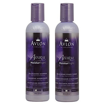 Avlon Affirm Moistur Right Nourishing Shampoo + Conditioner 8oz