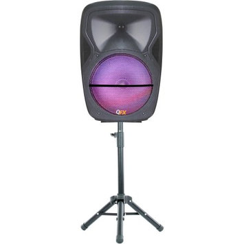 QFX PBX-61155 Bluetooth Portable Party Speaker With Stand