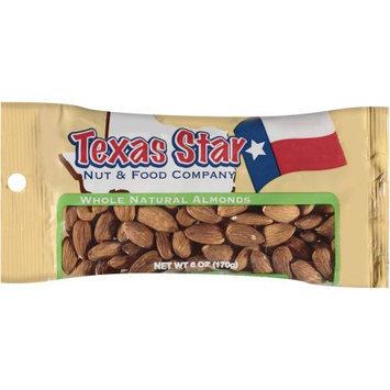 Texas Star Whole Natural Almonds, 6 oz