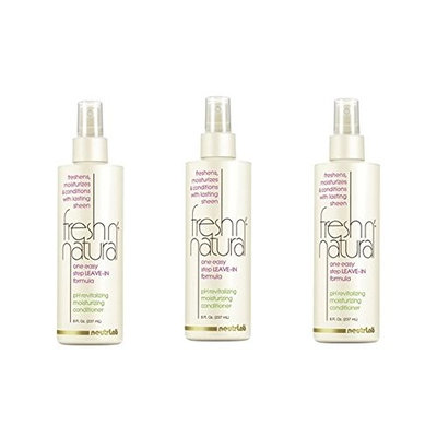 [ TRENDING PACK OF 3] NEUTRALAB FRESH NATURAL SPRAY one easy step LEAVE-IN formula 8 ounce ea : Beauty