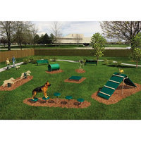 Ultra Play 6-Activity Intermediate Dog Park Agility Course Kit BARK-ITKIT-P