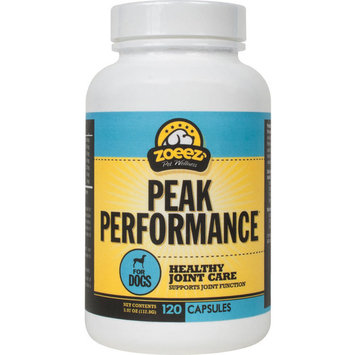 Zoeez Pet Wellness Peak Performance Glucosamine 500Mg For Dogs, 120 Capsules