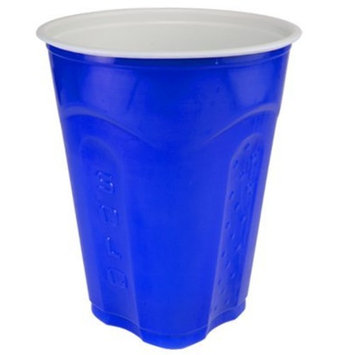 Solo Squared Cups, 18 Oz, Blue, 60 Count